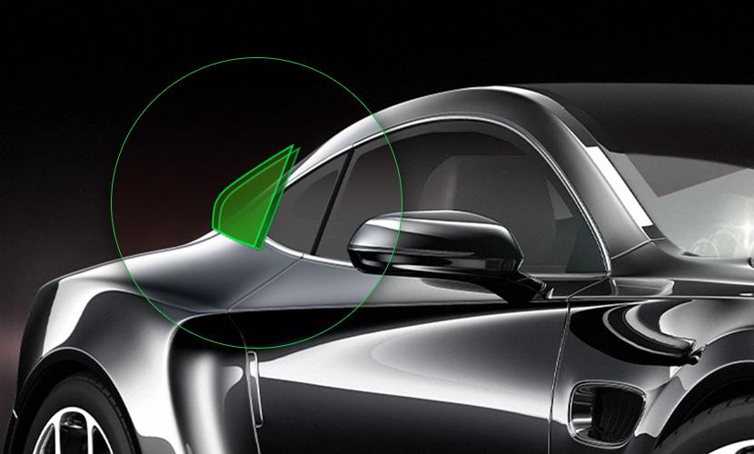 Automotive - Rear Passenger Window