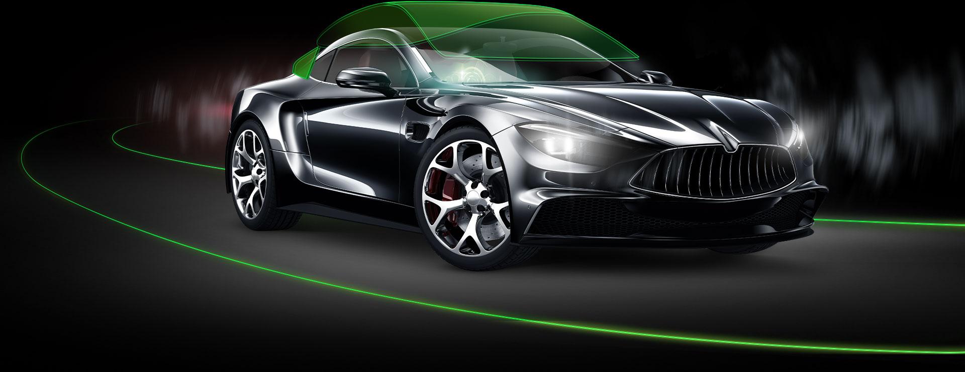 iGlass Car Glass Technology